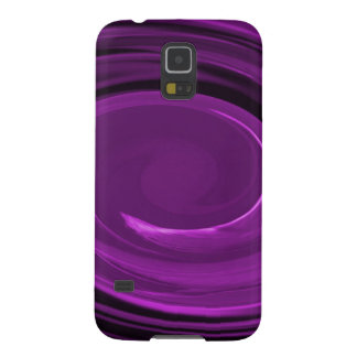 Samsung Galaxy S5 Case - purple spiral swirl
