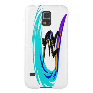 Samsung Galaxy S5 case with Surfer