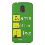Game Letter Tiles  Samsung Galaxy S5 Cases