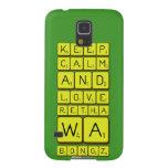keep calm and love Retha wa Bongz  Samsung Galaxy S5 Cases