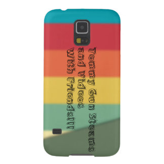 Samsung Galaxy S5 custom channel art phone case