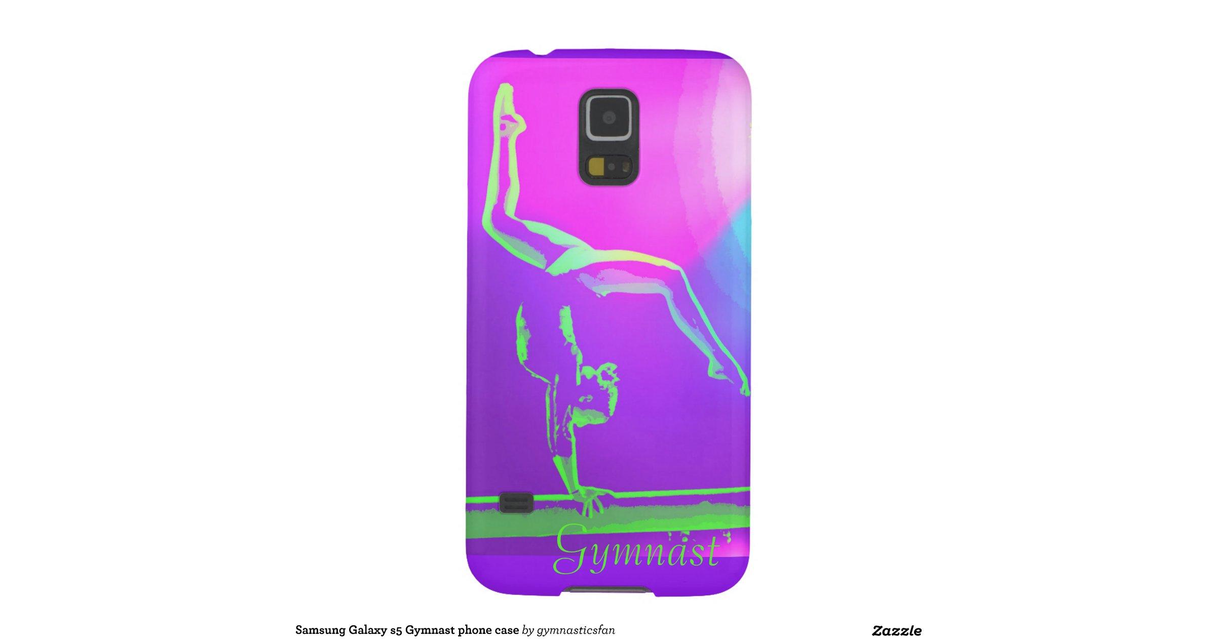 Samsung Galaxy S5 Gymnast Phone Case Cover Zazzle