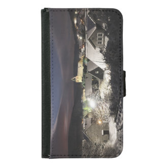 Samsung Galaxy S5 mobile phone purse village in Wallet Phone Case For Samsung Galaxy S5