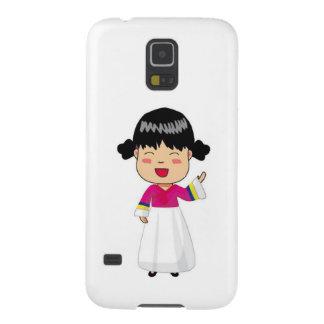 Samsung Galaxy S5 Phone case -Korean Chibi