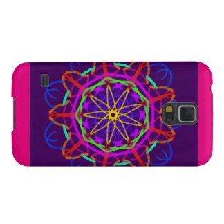 Samsung Galaxy S5 Pink Purple Kaleidoscope Galaxy S5 Cover