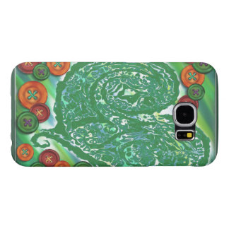 Samsung Galaxy S6, Barely There (Button & Heart) Samsung Galaxy S6 Cases