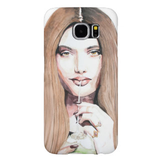 Samsung Galaxy S6, Barely There, golddigger Samsung Galaxy S6 Case