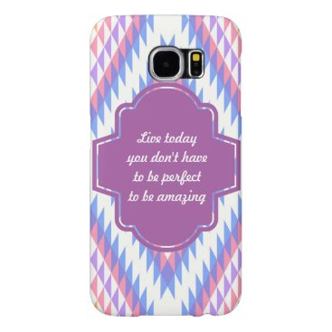 Aztec Themed Samsung Galaxy S6, Barely There Phone Case