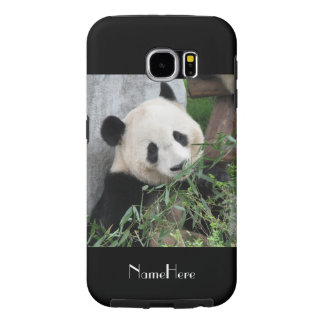 Samsung Galaxy S6 Case Giant Panda Black Tough
