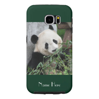Samsung Galaxy S6 Case Giant Panda Green, Tough