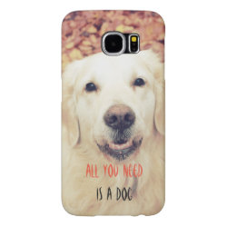 Case-Mate Barely There Samsung Galaxy S6 Case with Golden Retriever Phone Cases design