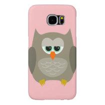 Samsung Galaxy S6 case with owl design