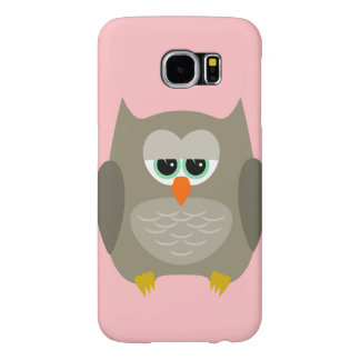 Samsung Galaxy S6 case with owl design