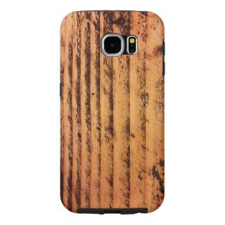Samsung Galaxy S6 custom wood graphics case