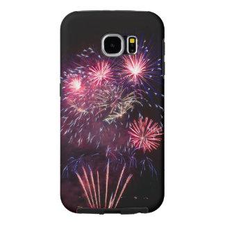 Samsung Galaxy S6 firework phone case