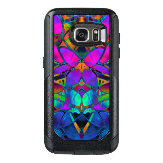 Samsung Galaxy S7 Case Floral Fractal Art
