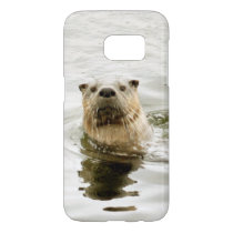 Samsung Galaxy S7 case with otter photo