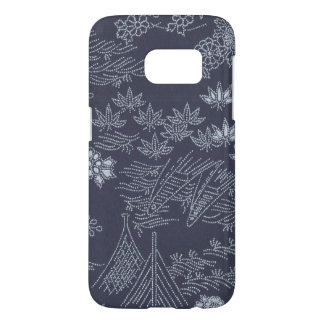 Samsung Galaxy S7 Japanese Floral Cellphone Case