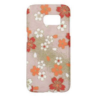 Samsung Galaxy S7 Japanese Floral Phone Case