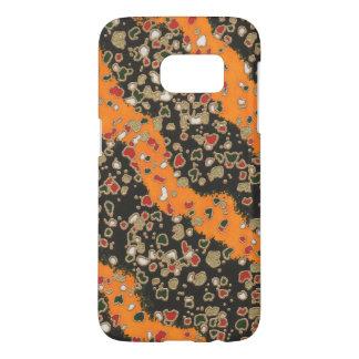 Samsung Galaxy S7 Japanese Floral Stripe PhoneCase