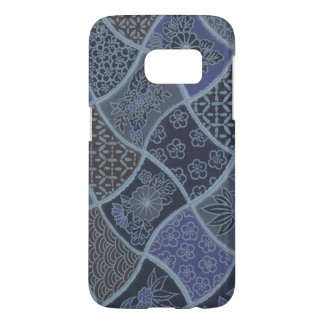 Samsung Galaxy S7 Japanese Floral Wave Phone Case