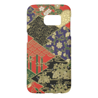 Samsung Galaxy S7 Japanese Quilted Pattern Case