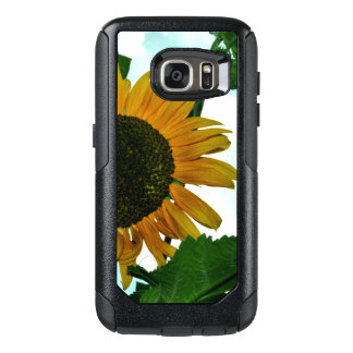 Samsung Galaxy S7 Otterbox case with sunflower