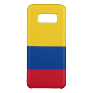 Samsung Galaxy S8 Case with flag of Colombia