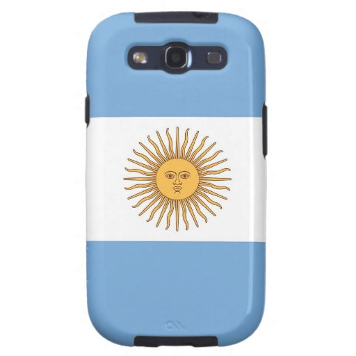 Samsung Galaxy S Case with Flag of Argentina
