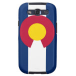 Samsung Galaxy S Case with Flag of Colorado Samsung Galaxy S3 Cover