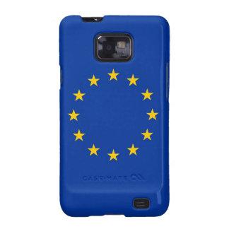 Samsung Galaxy S Case with Flag of European Union Galaxy SII Case