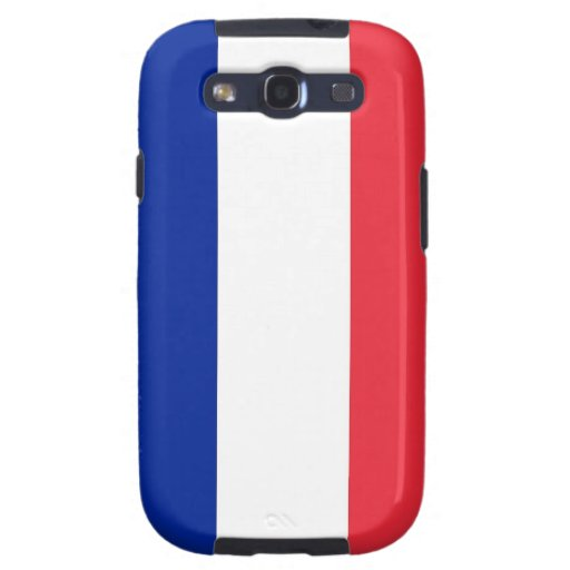 Samsung Galaxy S Case with Flag of France