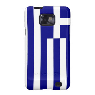 Samsung Galaxy S Case with Flag of Greece Galaxy S2 Case