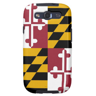 Samsung Galaxy S Case with Flag of Maryland Galaxy SIII Cover