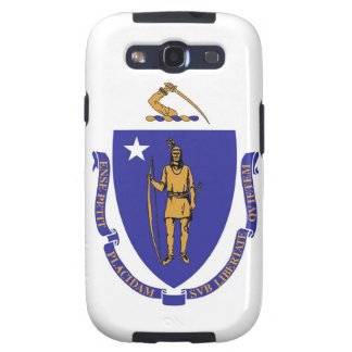 Samsung Galaxy S Case with Flag of Massachusetts Galaxy SIII Cases