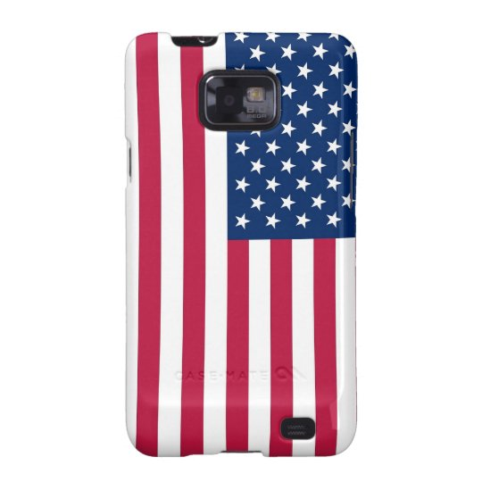 Samsung Galaxy S Case with Flag of USA
