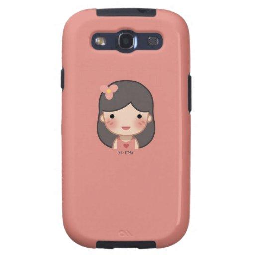 Samsung Galaxy S III Case (Girl)