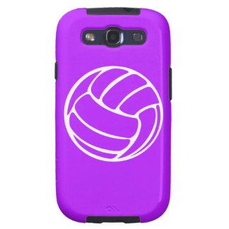 Samsung Galaxy S Volleyball White on Purple Samsung Galaxy S3 Case