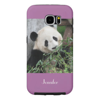 Samsung Galaxy Tough Giant Panda, Orchid, Purple Samsung Galaxy S6 Case