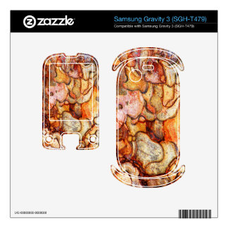 Samsung Gravity 3 SGH-T479 Samsung Gravity 3 Decals