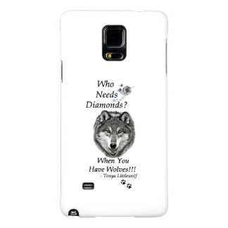Samsung Note 4 Case - Wolf Mountain Sanctuary