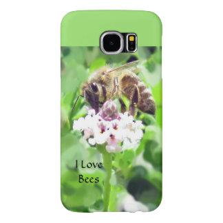 Samsung Phone Case - Honeybee on Blossom