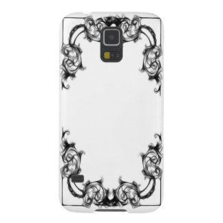 samsung phone VINTAGE FLORAL BLACK AND WHITE DAMAS Case For Galaxy S5