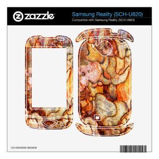 Samsung Reality SCH-U820 Decal For Samsung Reality