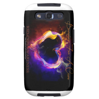 Samsung S3 Burning For A  Cure Cell-Case Samsung Galaxy S3 Case