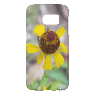 Samsung Yellow Floral Case Design