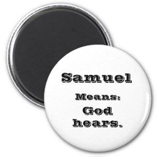 Samuel 2 Inch Round Magnet