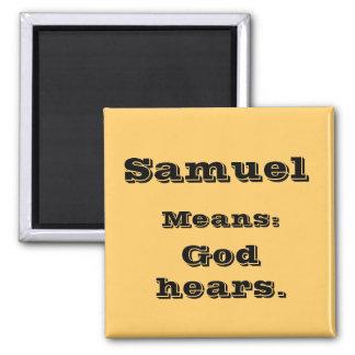 Samuel 2 Inch Square Magnet