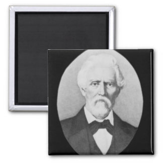 Samuel A. Maverick (1803-70) (b/w photo) Magnet