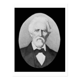 Samuel A. Maverick (1803-70) (foto de b/w) Postal